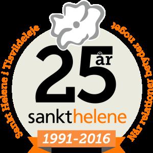 Sankt Helene 25 års jubilæum 1992-2016