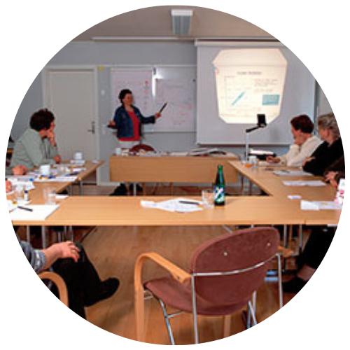 Mindre mødelokaler på Sankt Helene